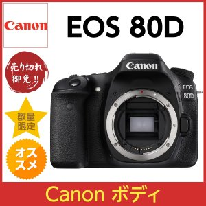 Canon EOS 80D ボディ 未使用 キャノン