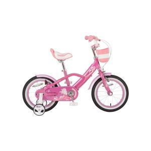 こども用自転車 マーメイド ピンク 16インチ ...の商品画像