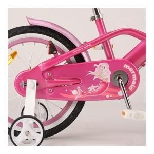 こども用自転車 マーメイド ピンク 16インチ...の詳細画像2