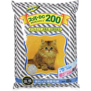 【猫自動トイレにぴったり】 猫砂 ネコ砂 ねこすな 固まる猫砂 スーパーキャット スーパー DC20...