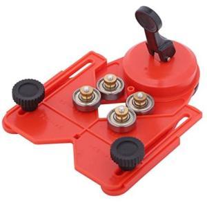 ガイドプレート ダイヤコア ホールソー ドリル タイル ガラス 調節可能 14-86mm対応 穴あけ 工具 merock