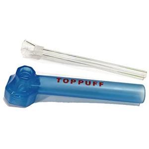 ペットボトルをボングに変換 Top Puff ボング コンバージョン パーツ bong conversion tool (ブルー) (ブルー)|merock