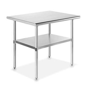 uyoyous オールステンレス作業台 ステンレス作業台 業務用 調理台 2段 ステンレステーブル ワークテーブル ステンレス台 業務用 調理台 merock