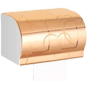 exitora トイレットペーパーホルダー トイレットペーパー ホルダー ステンレス 芯棒なし ゴージャス (ピンクゴールド) (ピンクゴールド) merock