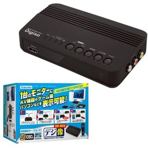 Princeton プリンストン アップスキャンコンバーター デジ像HD-BOX PUC-HDBOX merock