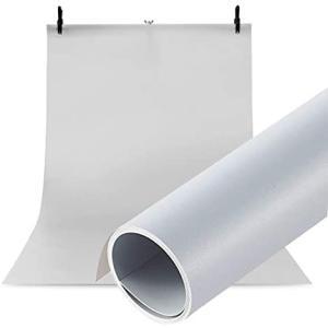 Meking 高品質写真撮影用 PVC 背景紙 バックペーパー 背景布 120cm x200cm 人物撮影 商品撮影対応 グレー (グレー) merock