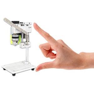KK moon ベンチドリル 機械 小型ドリル 出版物DIY 木製 金属 電動工具の 可変的 速度 チャック1.5-10mmミニチュア 小さい|merock