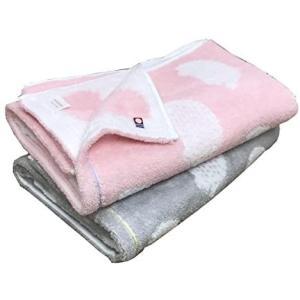 今治ブランド ハリネズミ バスタオル 2枚組 60x120cm (ピンク1枚 グレー1枚) (#01 バスタオル2枚)|merock