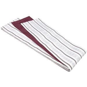 (キョウエツ) KYOETSU 日本製 京紫織 きょうしおり 半幅帯 細帯 献上 (白)|merock