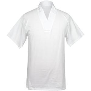 [キョウエツ] 半襦袢 Tシャツ 日本製 洗える 襦袢 男性 メンズ (白 M)|merock