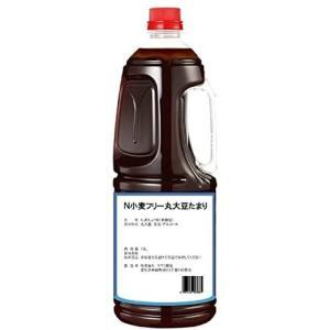 半田の旨味家 小麦フリー 丸大豆 たまり醤油 グルテンフリー 小麦不使用 1.8L 単品 化学調味料無添加|merock