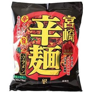 響 宮崎辛麺(即席麺) 1食 ×12袋 merock