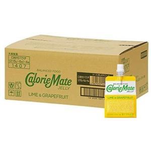大塚製薬 カロリーメイト ゼリー ライム&グレープフルーツ味 215g×24袋 merock