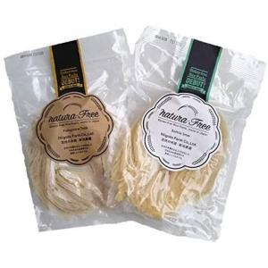 グルテンフリーパスタ 米粉 半生麺 新潟県産コシヒカリ 玄米粉 スパゲッティ (ソッテレ 5袋 + フェットチーネ 5袋)|merock