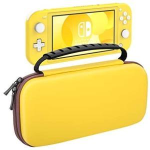 Nintendo Switch Lite ケース ATiC ニンテンドー スイッチライト キャリングケース 収納バッグ EVA素材 (Yellow)|merock