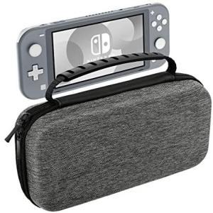 Nintendo Switch Lite ケース ATiC ニンテンドー スイッチライト キャリングケース 収納バッグ EVA素材 (Gray)|merock