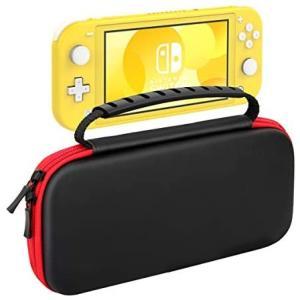 Nintendo Switch Lite ケース ATiC ニンテンドー スイッチライト キャリングケース 収納バッグ EVA素材 (Black)|merock