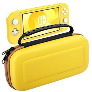 Nintendo Switch Lite ケース ATiC ニンテンドー スイッチライト 収納バッグ スイッチライト キャンセリング(Yellow)|merock