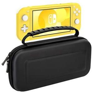 Nintendo Switch Lite ケース ATiC ニンテンドー スイッチライト 収納バッグ スイッチライト キャンセリング (Black)|merock