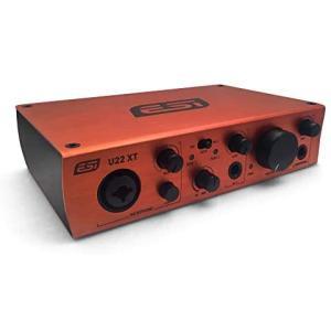 ESI U22 XT2IN / 2OUT プロフェッショナル24bit USBオーディオインターフェース|merock