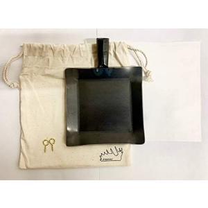 /moose/アウトドア鉄板 Frying iron tinyフライアン3.2mm 最小サイズ鉄板 アウトドア|merock