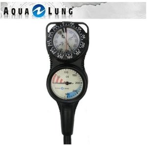 AQUALUNG トラスト2ゲージ 残圧計・コンパス|merock