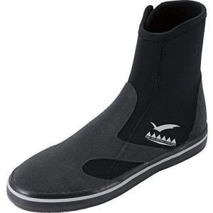 GULL ガル GSブーツII メンズ ブラック GA-5642 ダイビング ブーツ ブラック/25.0|merock