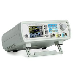 ICQUANZ DDS信号発生器 カウンタ 60MHz 高精度2.4''ディスプレイ表示 デュアルチャンネル任意波形発生器周波数計 266MSa/s merock
