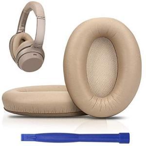 SOULWIT イヤーパッド イヤークッション 交換用 Sony WH-1000XM3 オーバーイヤーヘッドフォン に対応 (金) (金) merock