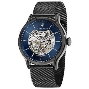 (マセラティ) Maserati epoca R8823118002 男性用 自動巻き 時計 [並行輸入品] (ブラック)|merock