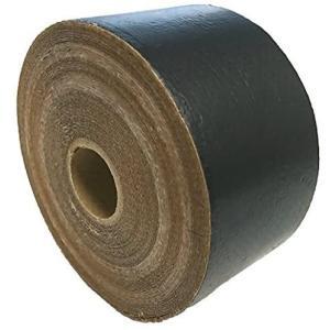 マットブラック アルミガラスクロステープ/50mm×20M/強粘着/保温 保冷 耐熱 目地 (マットブラック) merock