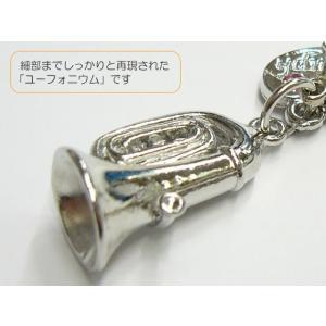 【携帯ストラップ】立体吹奏楽部ストラップ ユーフォニウム (立体楽器 金管楽器  72095-5) merry-net 03