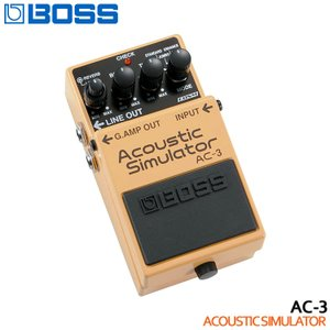 BOSS アコースティックシミュレーター AC-3 Acoustic Simulator ボスコンパクトエフェクター|merry-net