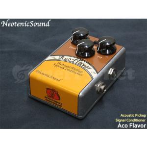 NeotenicSound アコースティックピックアップシグナルコンディショナー AcoFlavor ネオテニックサウンド エフェクター EFFECTORNICS ENGINEERING|merry-net