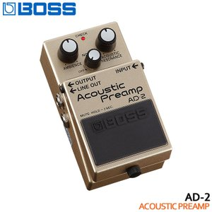 BOSS アコースティックプリアンプ AD-2 Acoustic Preamp ボスコンパクトエフェクター|merry-net