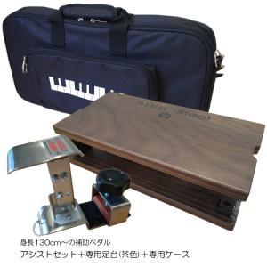 アシスト4点セット「アシストペダル/ハイツール(HS-Vセット)/アシストスツール茶(ASS-V-WN)/専用バッグ」|merry-net