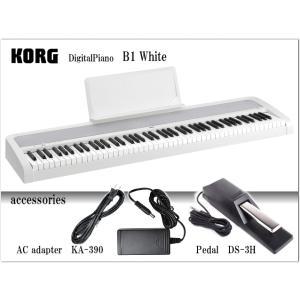 コルグ 電子ピアノ B1 ホワイト/KORG B1-WH|merry-net