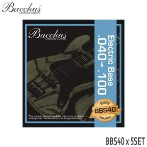 ベース弦 バッカス 40-100 BBS40 5セット Bacchus|merry-net