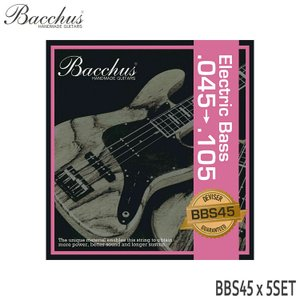 ベース弦 バッカス 45-105 BBS45 5set Bacchus merry-net