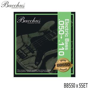 ベース弦 バッカス 50-110 BBS50 5セット Bacchus|merry-net