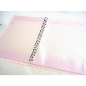 BandFile(バンドファイル) 20ポケット(楽譜40ページ分)ピンク merry-net 05
