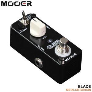 MOOER ディストーション Blade ムーアマイクロシリーズエフェクター