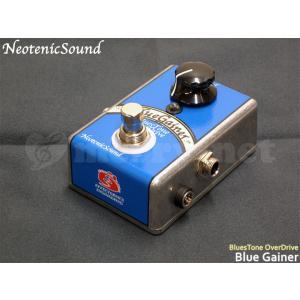 NeotenicSound ブルーストーンオーバードライブ BlueGainer ネオテニックサウンド エフェクター EFFECTORNICS ENGINEERING|merry-net