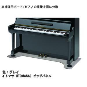 ピアノ用 床補強ボード:イトマサ ビッグパネル BP グレイ|merry-net
