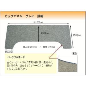 ピアノ用 床補強ボード:イトマサ ビッグパネル BP グレイ|merry-net|02