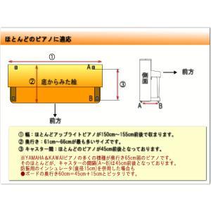 ピアノ用 床補強ボード:イトマサ ビッグパネル BP グレイ|merry-net|04