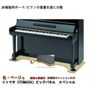 ピアノ用 床補強ボード:イトマサ ビッグパネル スペシャル BP ベージュ/耐熱&防振用 merry-net