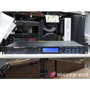 外箱痛み特価■TASCAM 1U CDプレイヤー CD-500B (バランス出力)|merry-net