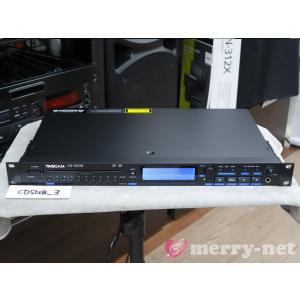 アウトレット特価■TASCAM 1U CDプレイヤー CD-500B (バランス出力 オートキュー)|merry-net