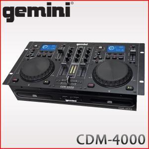 gemini ジェミナイ コンボCDJプレイヤー CDM-4000 (USBメモリー/MP3対応)|merry-net